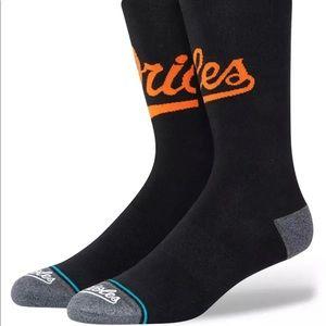 Stance Baltimore Orioles Socks - NWT